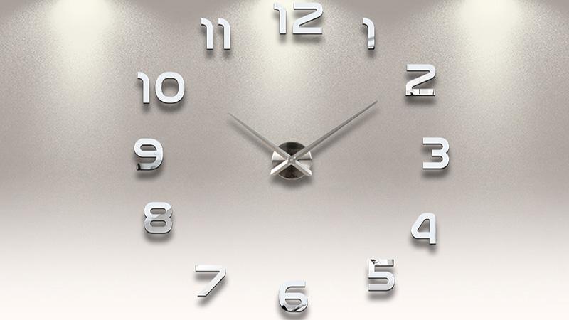 L 39 orologio da parete per il mio salotto for Orologi a parete da cucina
